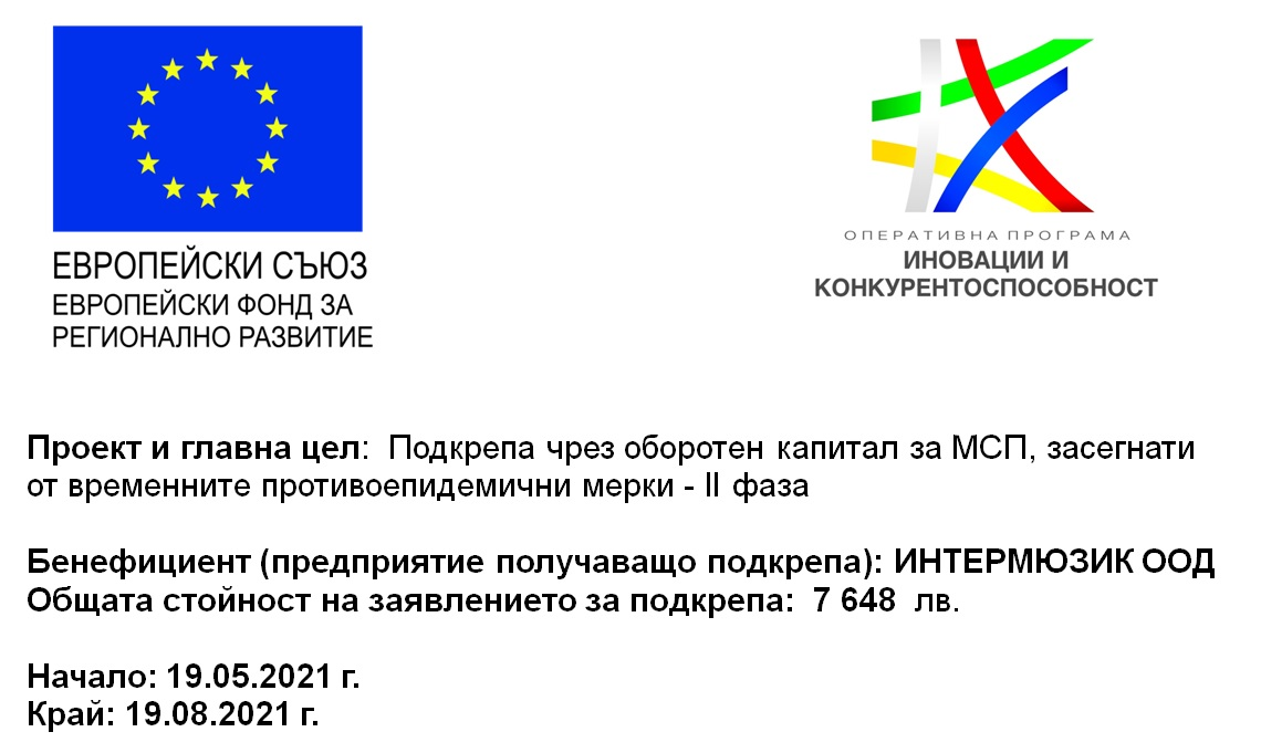 Working capital support for small and medium-sized enterprises  affected by temporary anti-epidemic measures - II phase